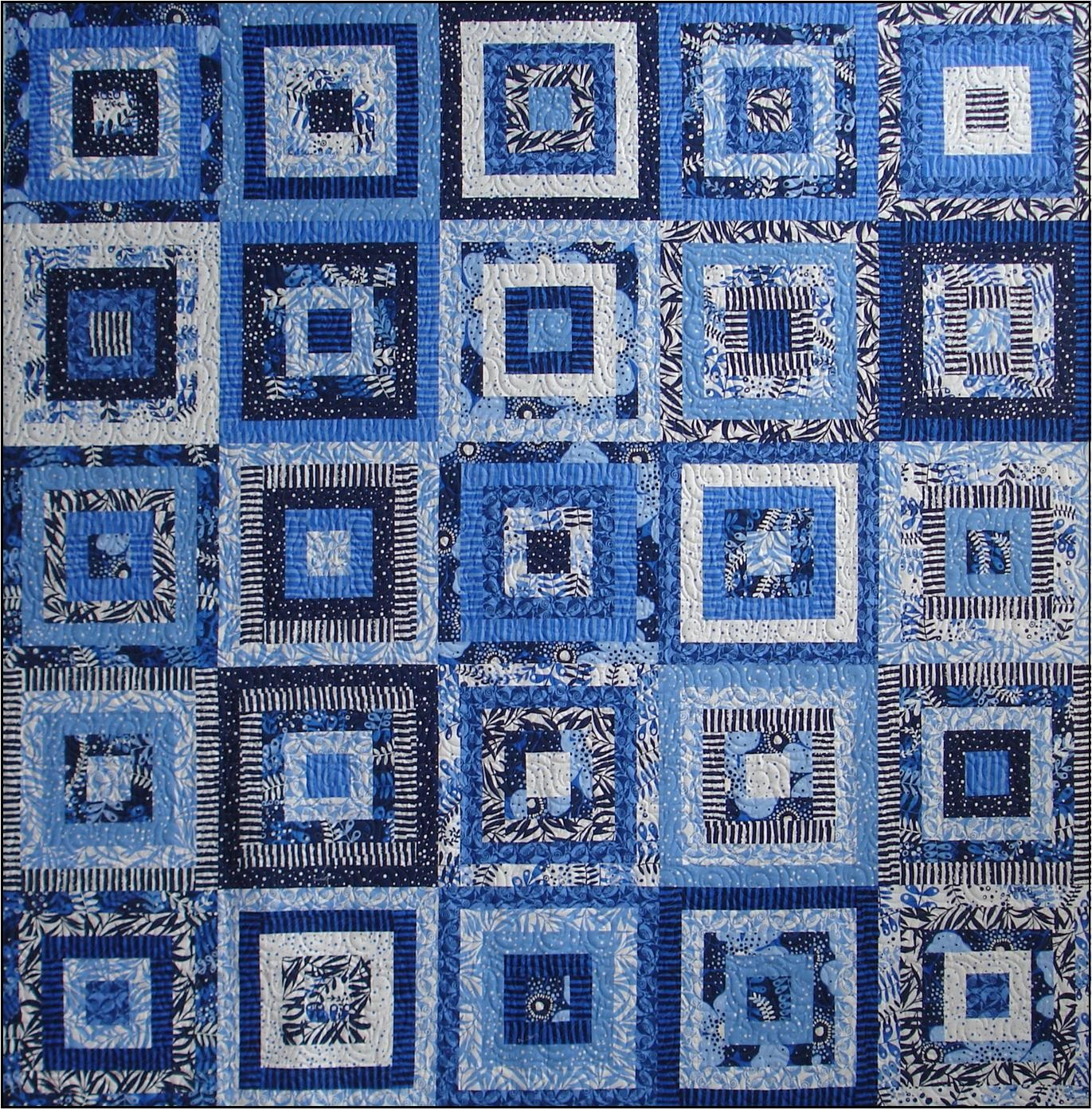 Around the Block quilt