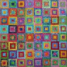 Around the Block Quilt - mini
